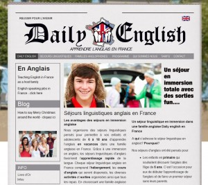 Teaching English to French children and teens