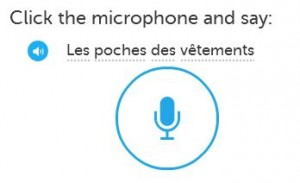 Record your French speaking