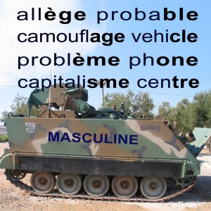 Mnemonic for Masculine Nouns